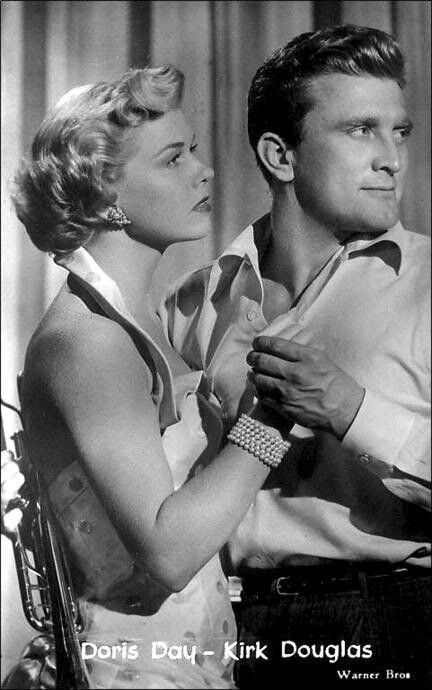 Doris Day and Kirk Douglas - Young Man With a Horn