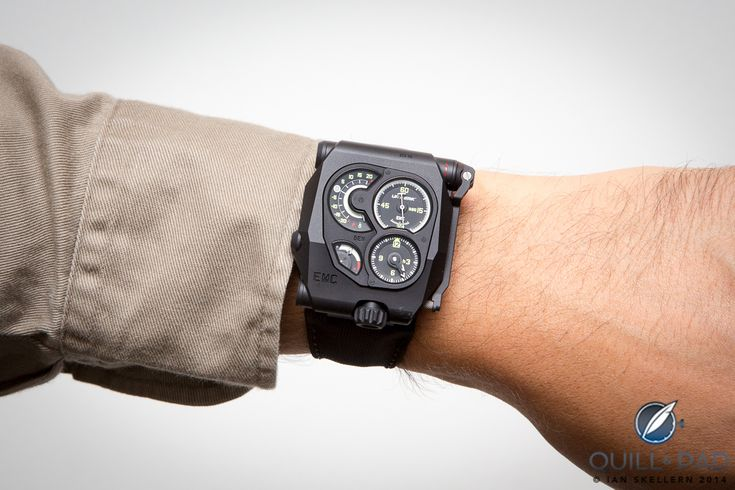 Let's get one thing straight: Urwerk's EMC Black is not a pretty watch and it's not meant to be, it's a proof-of-concept instrument. And a very good instrument at that, one that is not only extremely precise, but is the world's first watch capable of measuring its own precision without external tools or meters.