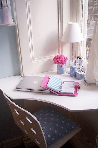 working corner in our miniature flat by Dora iz Londona (UK)