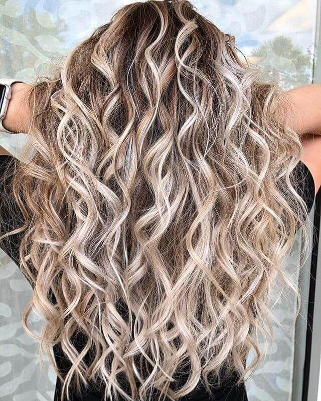 50 Schmeichelnde Braune Haare Mit Blonden Highlights Für