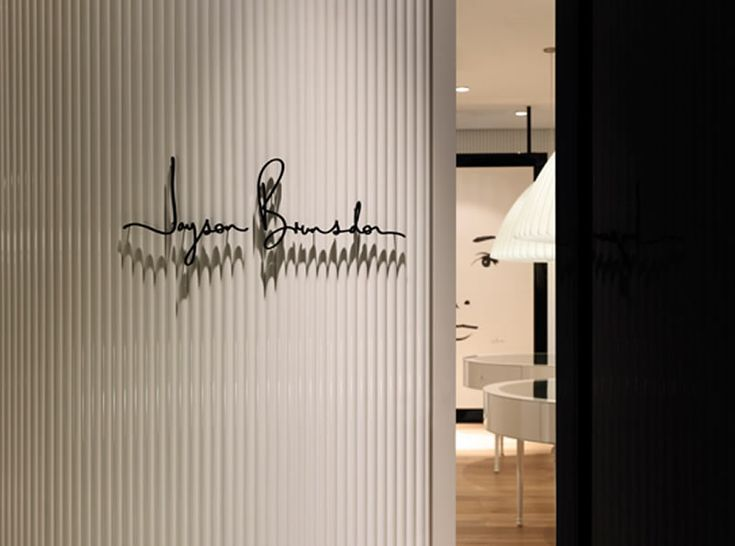 Image detail for -Retail Store Fashion Boutique Interior Design Jayson Brunsdon Signage ...