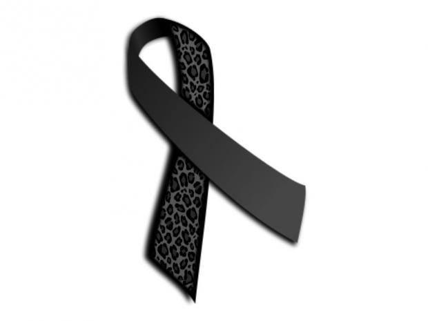 tattoos for women with black ribbons for melanoma | Pin Melanoma Cancer Ribbon Color I14jpg on Pinterest