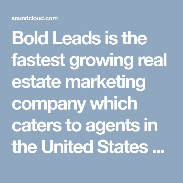Bold Leads is the fastest growing real estate marketing company which caters to agents in the United States and Canada.Bold Leads is one of the best lead generation software for real estate organization. #BoldLeads #BoldLeadsReviews