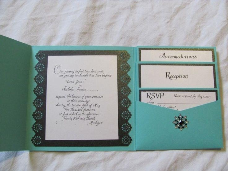 Tiffany Blue Wedding Invitations Kits: Best 25+ Blank Wedding Invitations Ideas On Pinterest