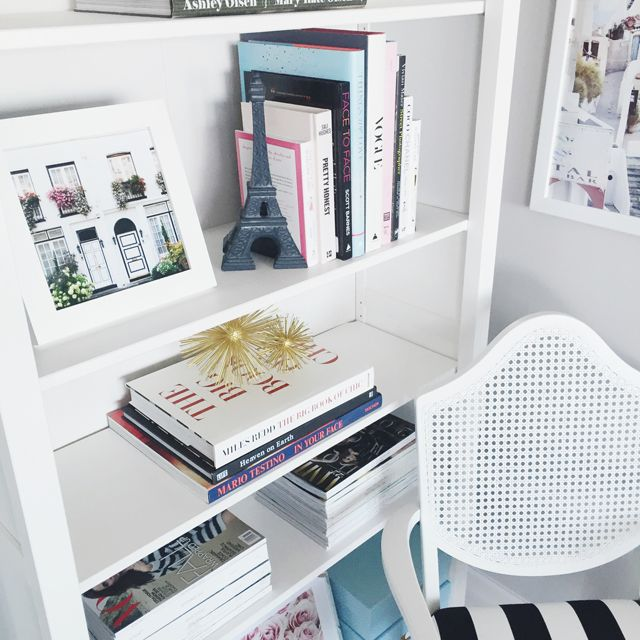 Bookshelf Styling Via @Annawithlove