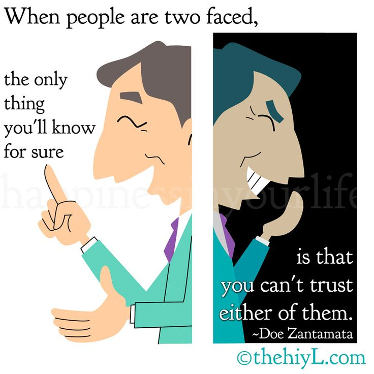 Quotes About Two Faced People