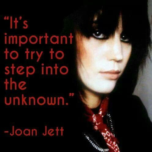From The Wise Words Of Joan Jett