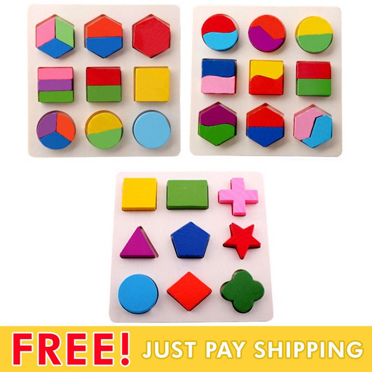 Cheap Early Learning, Buy Quality Geometry Wooden Directly From China  Puzzle Educational Suppliers: 1 Piece Baby Kids Wooden Learning Geometry  Educational ...