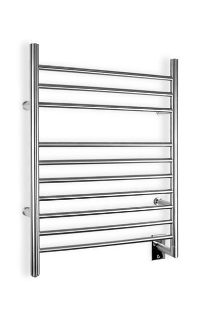 Nothing beats stepping out of the shower and grabbing a toasty  towel to dry with, or having a warm face towel ready right after a shave. A towel warmer heats up any items placed on the racks or bars, such as towels, bathrobes, or pajamas. It even dries damp towels after use. The towel warmer also acts as a space heater to keep the bathroom warm and dry, which can help prevent mold and mildew. The units typically mount to a wall, although freestanding models are also available. Some towel…