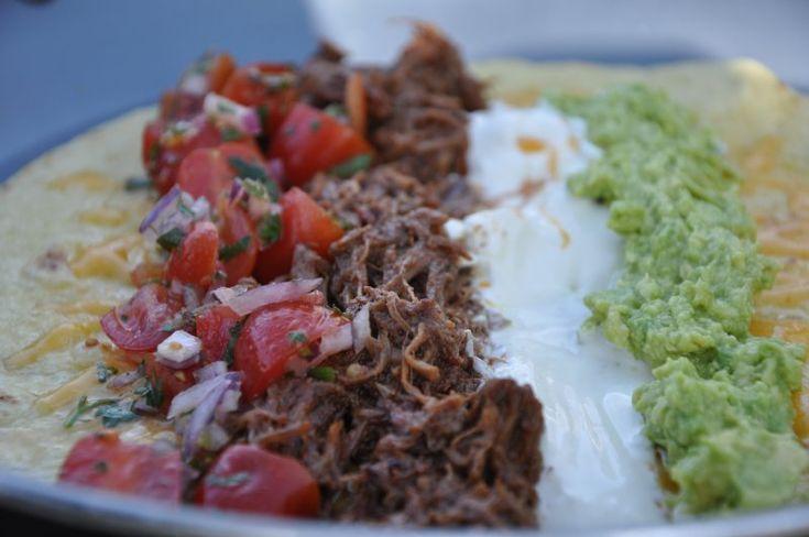 Shredded oksekød til burritos og taco, Mexico,Andet, Hovedret, Oksekød, opskrift