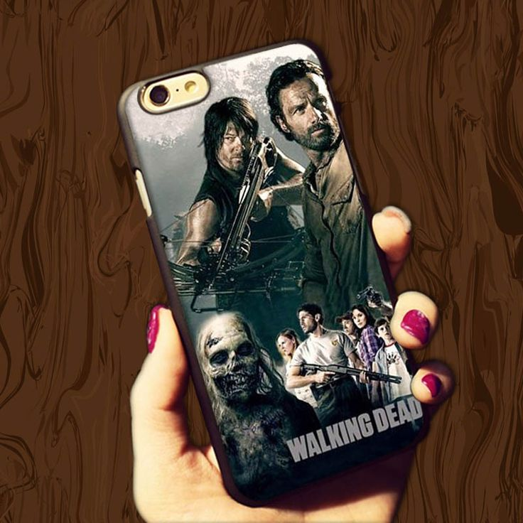 The Walking Dead Cool Plastic Case For iPhone4s 5s 5c 6plus 6S Cases Hard Back Cover //Price: $7.95 & FREE Shipping //     #glenn