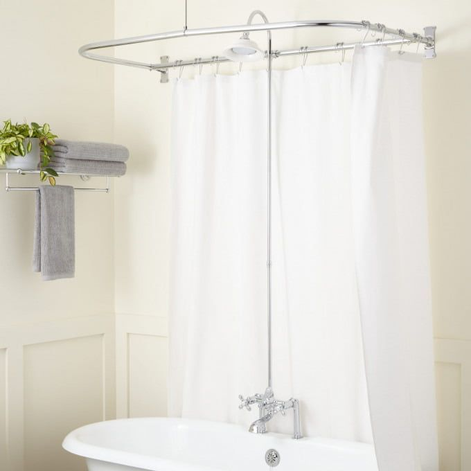Clawfoot Tub To Shower Conversion Kits Signature Hardware