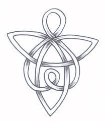 loving celtic angel more tattoo ideas celtic symbols welsh tattoo ...