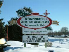 Bronner's Christmas Wonderland in Frankenmuth, MI