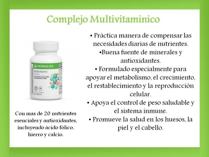 descripcion de productos de herbalife