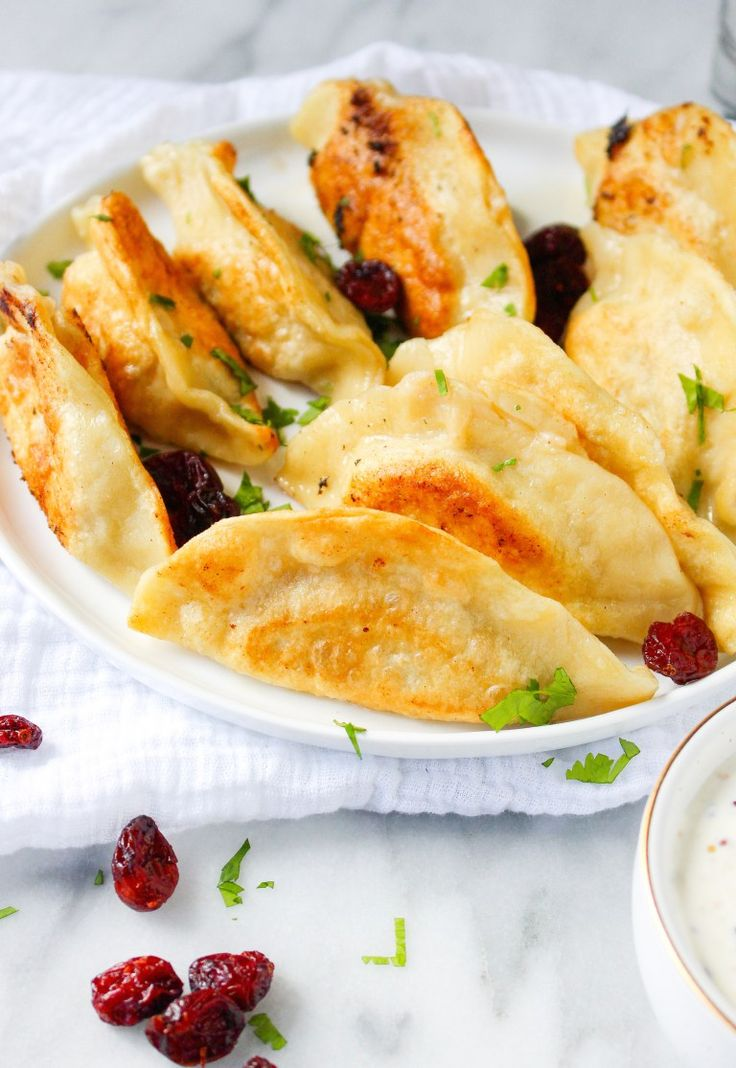 Thanksgiving Leftovers Pierogies from @yestoyolks