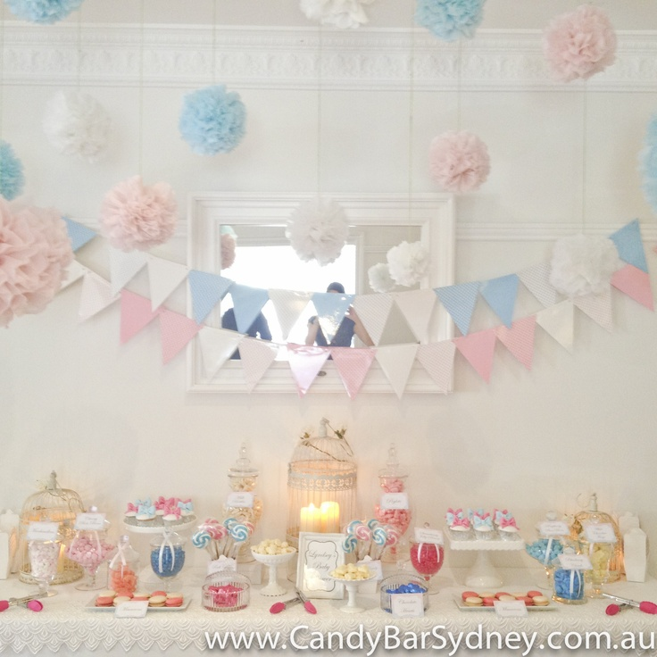 Baby Shower Candy Buffet Created By Candy Bar Sydney
