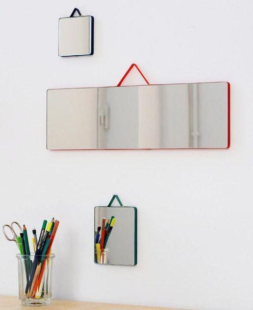 Ruban mirrors, Hay, 2015
