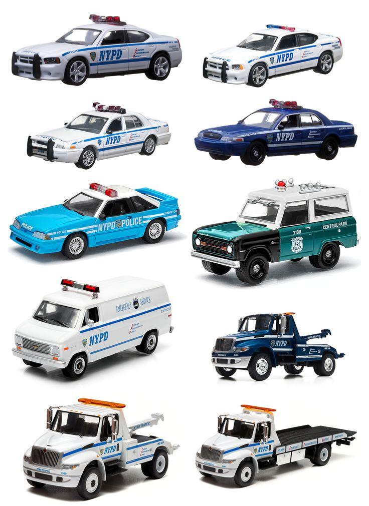 Coleção NYPD – Carros de Polícia Para a Sua Coleção