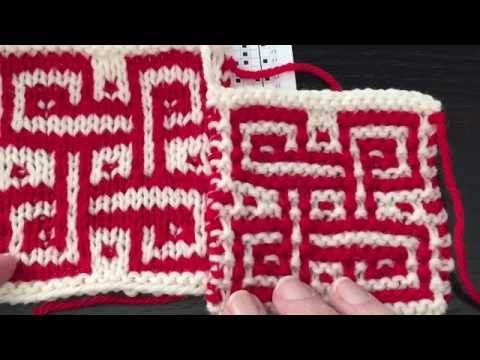44 best 2 color knitting - fair isle, mosaic, stranded colorwork ...