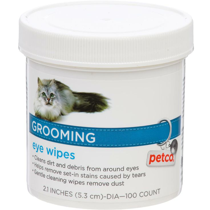 Petco Grooming Eye Wipes for Cats 7.99 Cat groomer