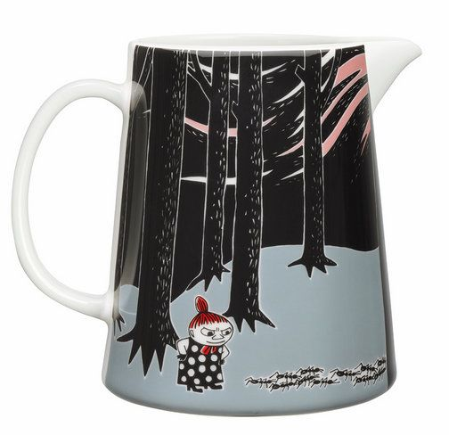 Nordic Thoughts: New! Move with Moomin.... Little My is staring at ants in the woods
