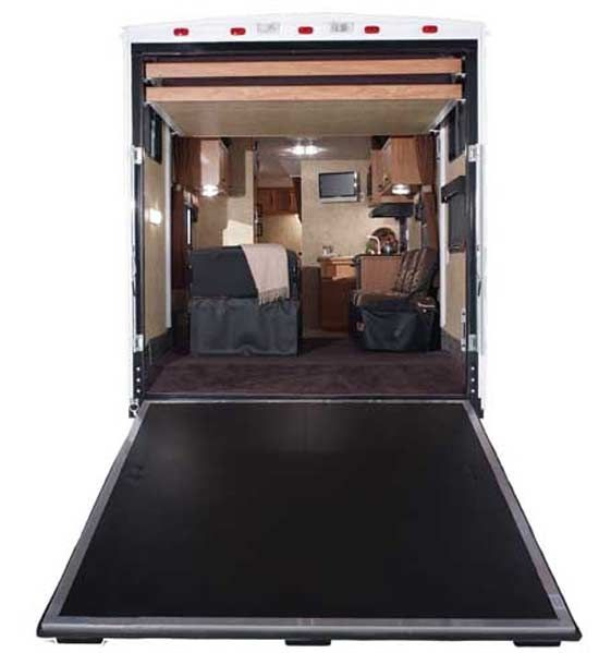 Redone Construction Trailers Insulated Easy Load Ramp