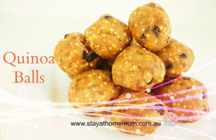 Quinoa Balls | Stay At Home Mum