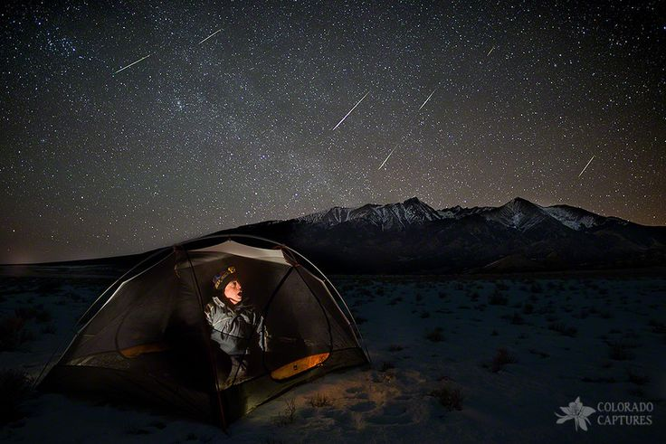 Taking Cover From The Quadrantids Meteor Shower by Mike Berenson - Colorado Captures on 500px