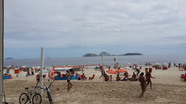 Pretty beach. Beautiful people.