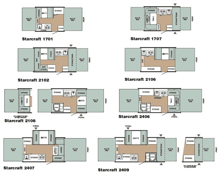1999 starcraft pop-up camper floor plans - Yahoo Image Search Results