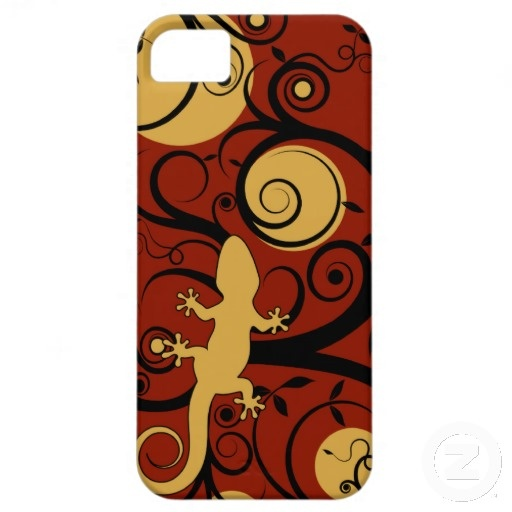 Gecko Flourish iPhone 5 Cases
