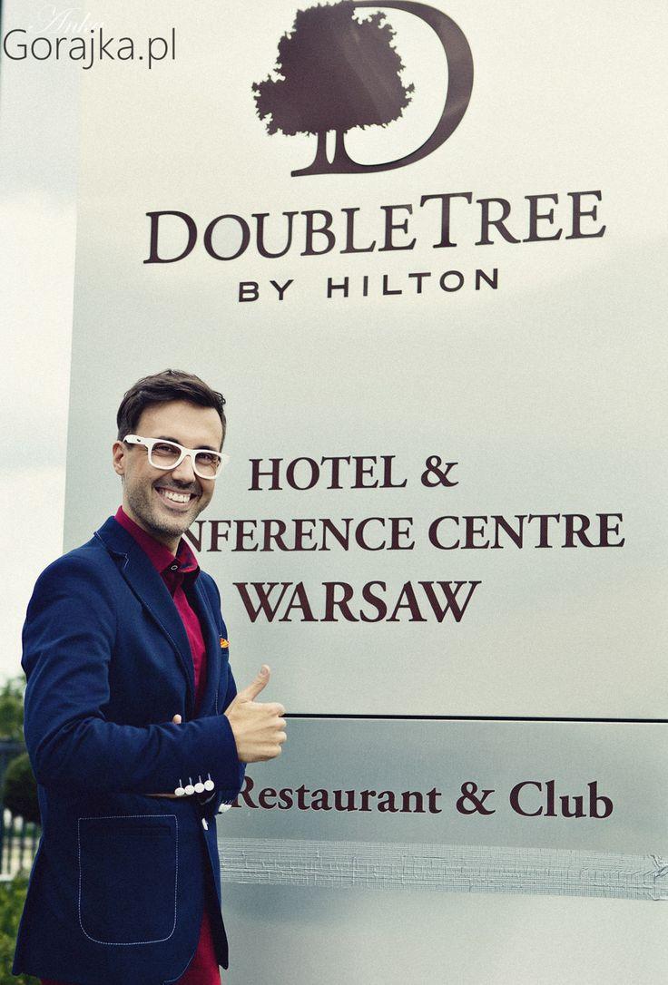 DJ Adamus w DoubleTree Warsaw! :-)
