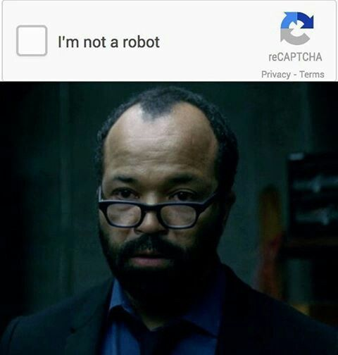 Bernard meme // Westworld