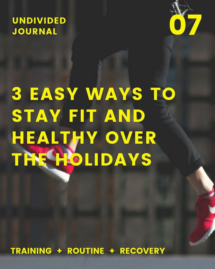 Its gonna be tricky to maintain your workout when youre surround by family and food but here are 3 simple ways to continue staying fit and healthy over the holidays.  Read it here  http://www.bit.ly/uf-journal-07