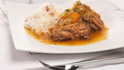 Pollo con mango y jengibre de Bruno Oteiza