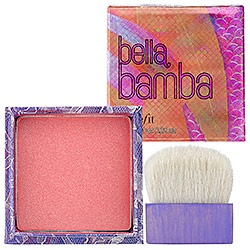 bella bamba!  My favorite blush from Benefit.  It's soo pretty!