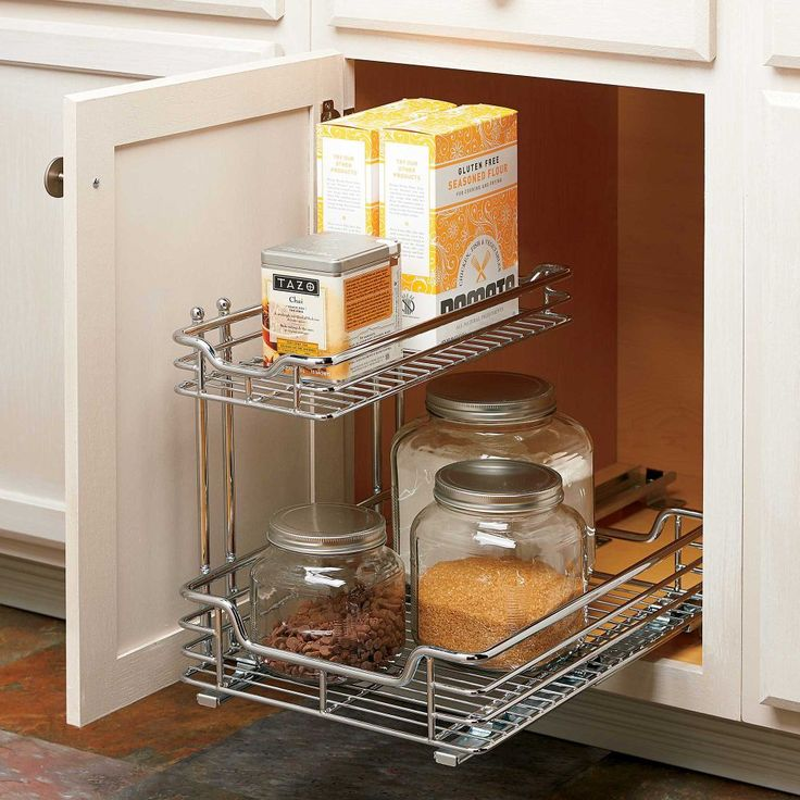 Pull Out Sliding Metal Kitchen Pot Cabinet Storage: Best 25+ Slide Out Shelves Ideas On Pinterest