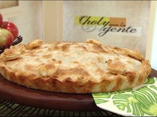 Recetas Choly Berreteaga  Pastel de manzanas express   Utilisima.com