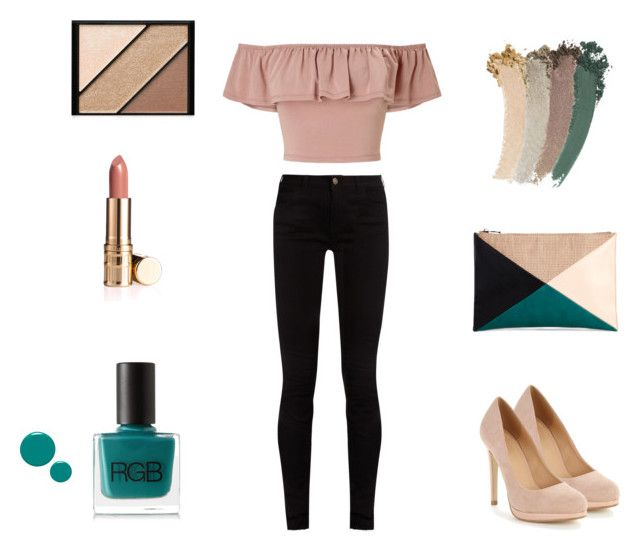 """Pink Powder"" by katyvalentine on Polyvore featuring Gucci, Miss Selfridge, Sole Society, Elizabeth Arden, Dolce&Gabbana and RGB"
