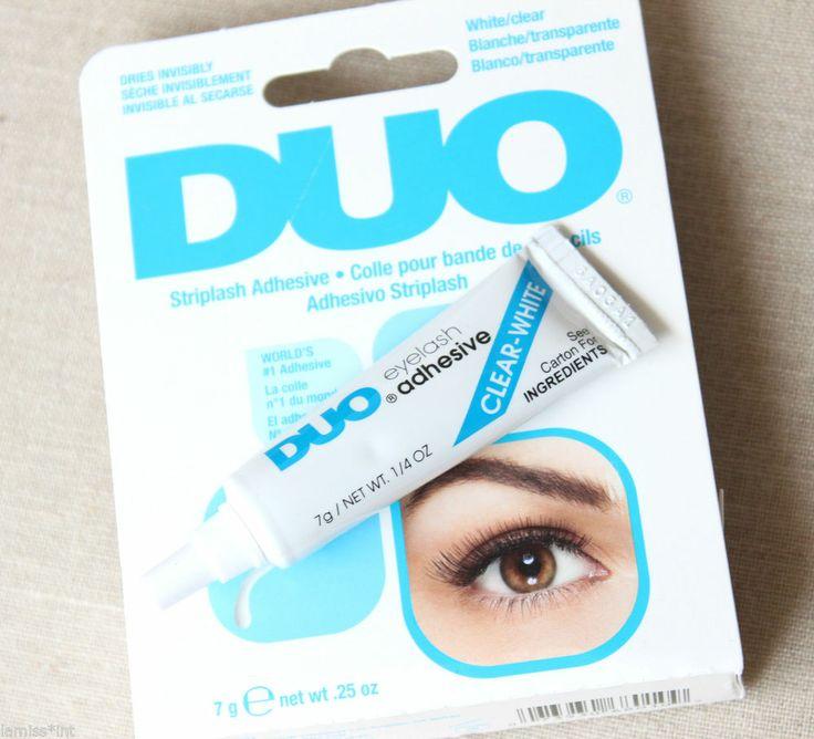 DUO eyelash adhesive Wimpernkleber transparent/klar weiss, lash glue