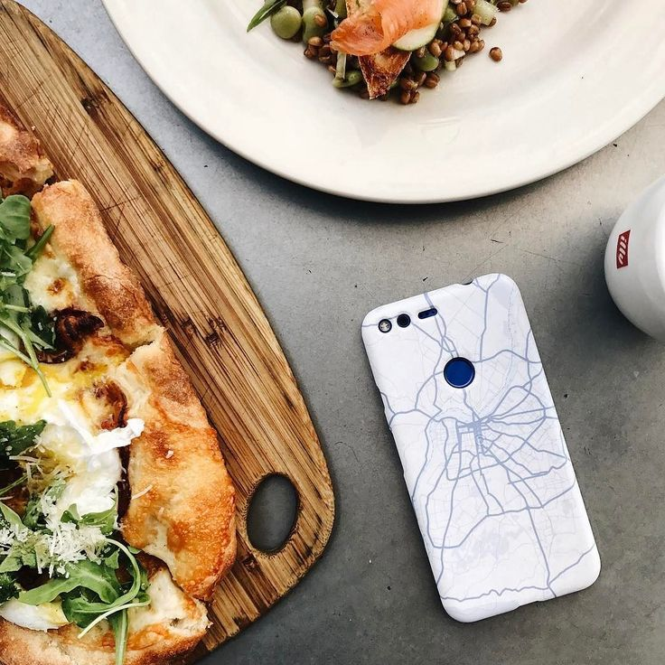 Favorite pizza from @bluedogbakeryandcafe and favorite phone case (it's a street map of Louisville!) from @google for my Pixel XL. With their new live cases my favorite place is always in the palm of my hand no matter where in the world I am. #giftfromgoogle #outnlou #tkgpartner