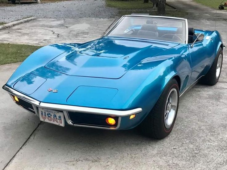 1968 Corvette Convertible For Sale in Florida 68 427