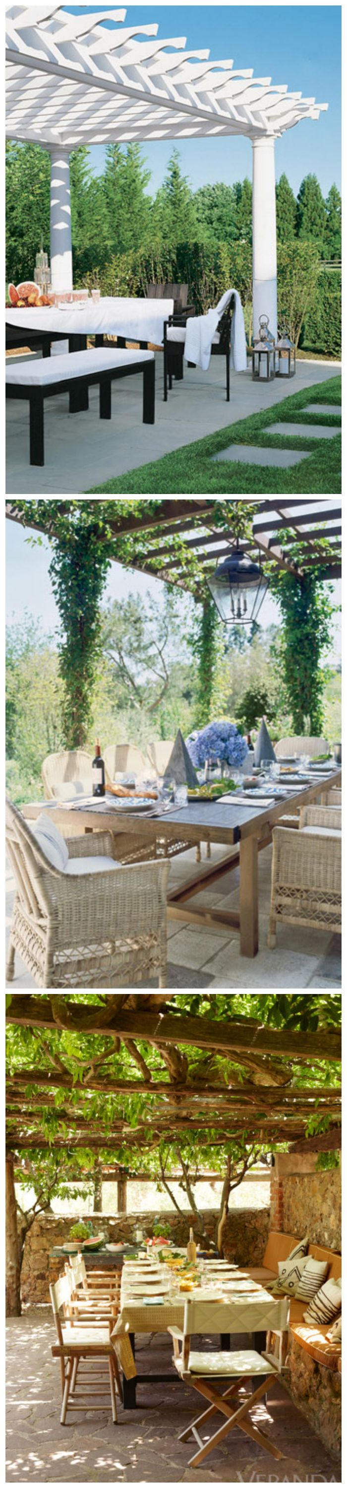 104 best Garden- Arbor / Trellis / Pergola images on Pinterest ... Garden Design Outdoor Dining P E A on