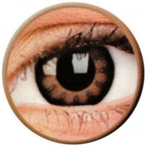 Lentile de contact colorate caprui Big Eyes Sexy Brown - http://lensa.ro/lentile-contact-colorate/big-eyes/sexy-brown