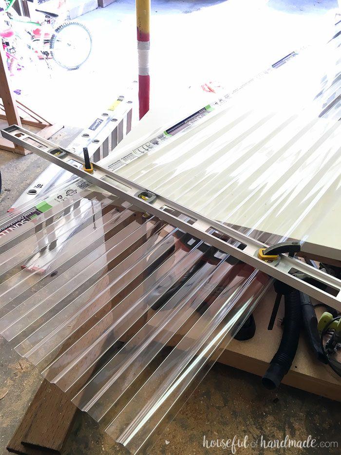 Installing A Clear Pergola Roof Techo De Pergola Techo De Patio Y Pergola Cubierta