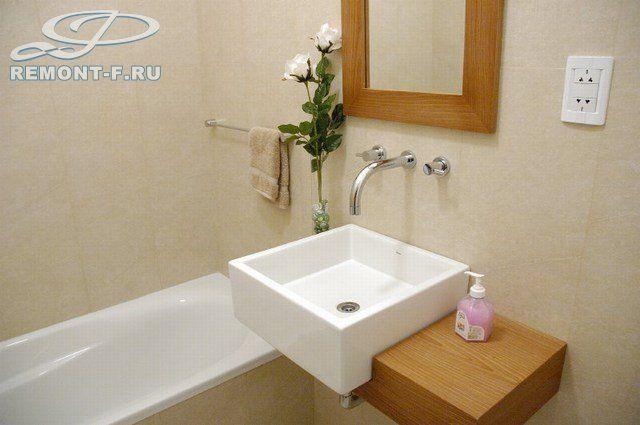 Интерьер ванной комнаты. Фото