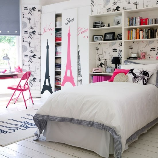 HABITACION PARA UNA ADOLESCENTE [] ROOM FOR A TEENAGER