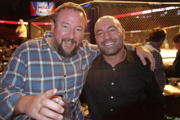 Shane Smith and Joe Rogan.