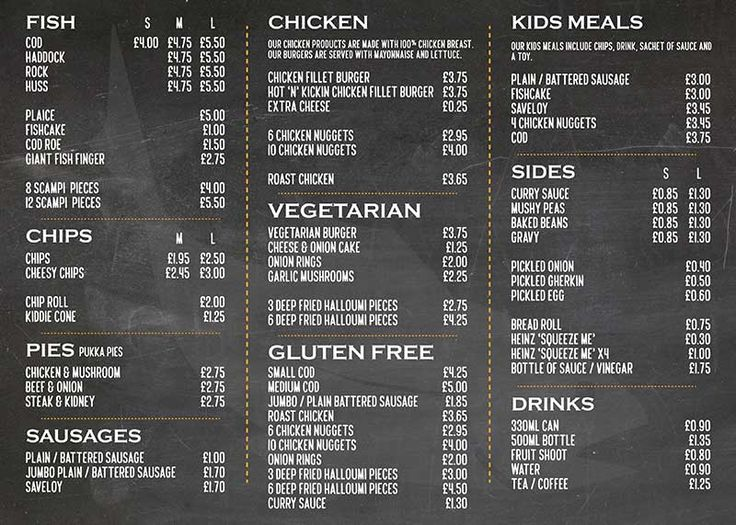 fish and chip shop menu template 19 best menu and price list designs images on pinterest